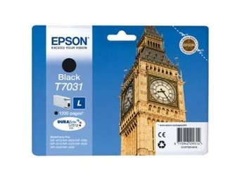 FP Epson C13T70314010 Black L, WP4000/4500-series 1200 sid.