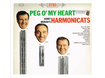 Jerry Murad's HARMONICATS - Peg O' My Heart - LP