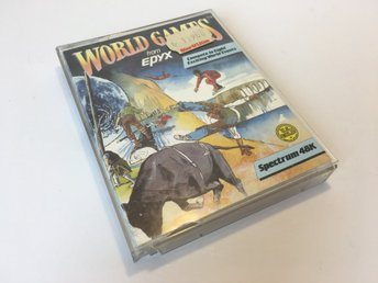 "World Games *TESTAD* - ZX Spectrum - 1986 - Epyx - ""storkassett"""