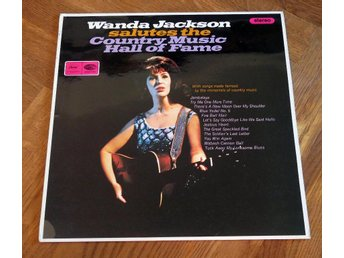 WANDA JACKSON Salutes UK Capitol 1966 Country/Rockabilly M-