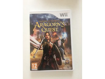 Wii spel  The lord of the ring Aragorns quest