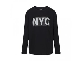 T-shirt long sleeve NYC Black - 152 (Rek pris: 399kr)