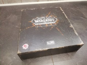 World of Warcraft WoW Collectors Collector's Cataclysm