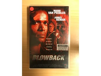 Blowback (Mario Van Peebles) Egmont film (Happy Station) VHS