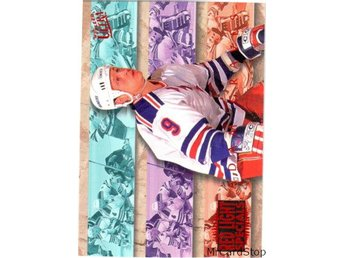 Ultra 1994-95 Red Light Special 4 Adam Graves New York Rangers