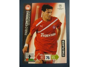 STAR PLAYER -  PABLO CONTRERAS -  OLYMPIACOS - CHAMPIONS LEAGUE 2012-2013