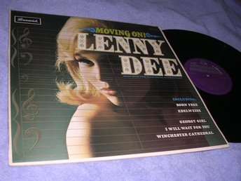 Lenny Dee - Moving On (LP) UK 1967 NM/EX