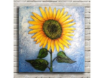 Modern Hand-painted oljemålning Sunflower Art Oil Painting Wall Decor Canvas - Guangzhou - Modern Hand-painted oljemålning Sunflower Art Oil Painting Wall Decor Canvas - Guangzhou