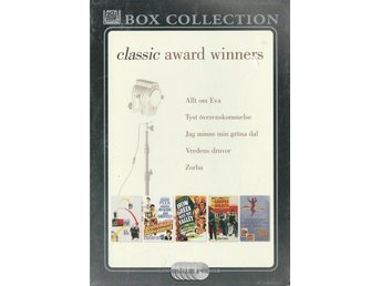 CLASSIC AWARD WINNERS - 5 DVD BOX -ZORBA.( SVENSKT TEXT ) - Svedala - CLASSIC AWARD WINNERS - 5 DVD BOX -ZORBA.( SVENSKT TEXT ) - Svedala