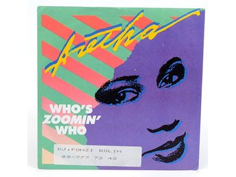 Aretha Franklin - Who's Zoomin' Who 107 745 Singel 1985