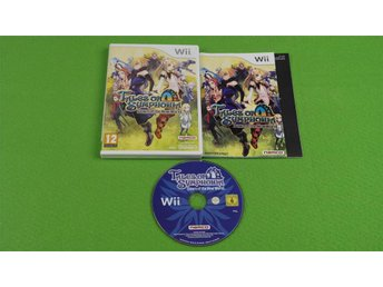 Tales of Symphonia Dawn of the New World MED SVENSK QUICKSTART Nintendo Wii