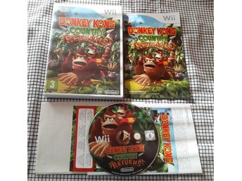 Donkey Kong Country Returns - Nintendo Wii (komplett)