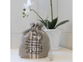 Bag med text- Natur