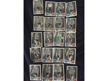 Newcastle United FC Fotbollskort, Match Attax