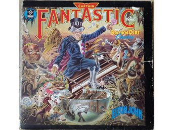 Elton John - Captain Fantastic And The Brown Dirt Cowboy (LP, vinyl, Near Mint)