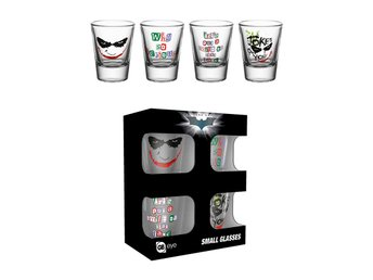 Shotglas (4st) - Batman (The Dark Knight) - Joker