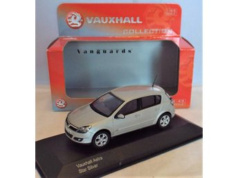 Corgi Vanguards Vauxhall Astra Star Silver - 1/43 scale