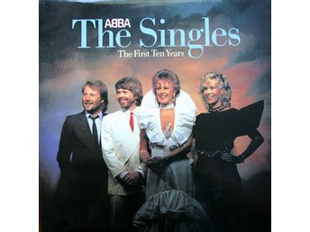 LP Abba The singles  The first ten years