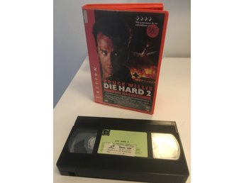Die Hard 2: Die Harder (VHS) *Transfer *Fd hyr
