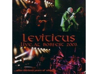 CD LEVITICUS - LIVE AT BOBFEST 2003  - ny