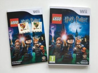 Nintendo Wii - Lego Harry Potter Years 1-4 COLLECTORS EDITION
