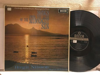 SONGS FROM THE LAND OF THE MIDNIGHT SUN - BIRGIT NILSSON