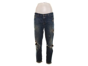 Perfect Jeans Gina Tricot, Jeans, Strl: 38, Blå