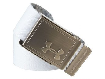 Under Armour webbing belt vit/ljusgrå