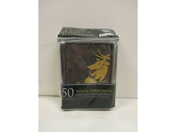 Card Sleeves: House Baratheon (GAME OF THRONES) - OBRUTEN FÖRPACKNING!