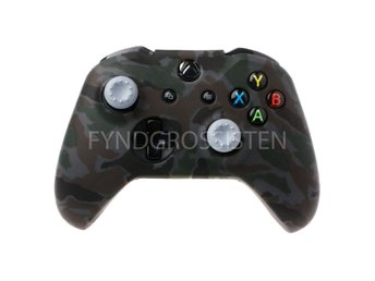 Camouflage Silicone Gamepad Cover for XBox One X S Black Fri Frakt Ny
