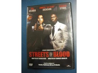 STREETS OF BLOOD - VAL KILMER, CURTIS - 50 CENT -  JACKSON