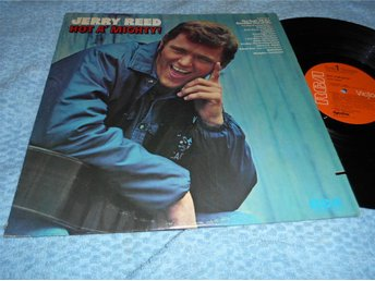 Jerry Reed - Hot A' Mighty! (LP) gitarr EX/VG+
