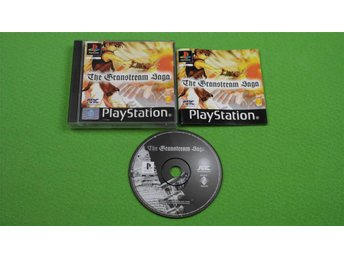 Granstream Saga ENGELSK TEXT I SPELET Playstation ps1