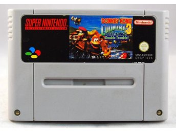 Donkey Kong Country 3: Dixie Kongs Double Trouble! - Super Nintendo - Varberg - Donkey Kong Country 3: Dixie Kongs Double Trouble! - Super Nintendo - Varberg