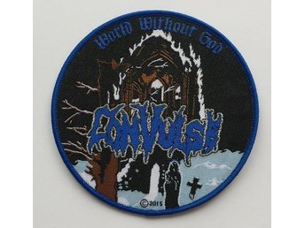 CONVULSE patch entombed/bolt thrower/demilich/nihilist/grave