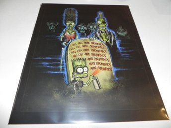 The Simpsons Treehouse of Horror ART PRINT POSTER PLANSCH AFFISCH