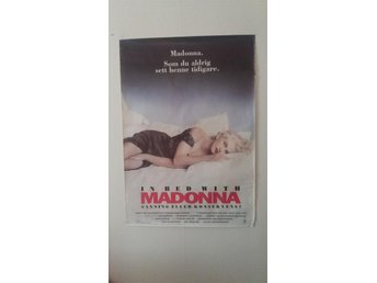 Affisch Madonna In bed with Madonna 1991