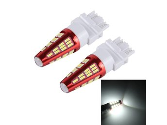 LED lampa 3157 10W 800LM 6000K 48 SMD-4014 Canbus - 2Pack