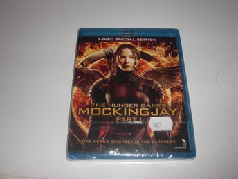 The Hunger Games - Mockingjay - Part 1 - Blu-ray  - Inplastad