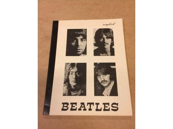 The Beatles  Songbook  Ovanlig text-bok  80 sidor (tidigt 80-tal?) Fint skick !!