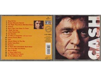 JOHNNY CASH - The Best Of Johnny Cash CD - Edsbyn - JOHNNY CASH - The Best Of Johnny Cash CD - Edsbyn