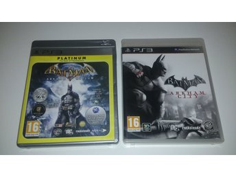- 2-Pack Batman Arkham Asylum + Arkham City PS3 -