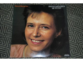IRENE SJÖGREN - Sweet Surprise - DRAGON orig LP vokal jazz