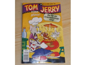 Tidning Tom & Jerry nr 5 1997