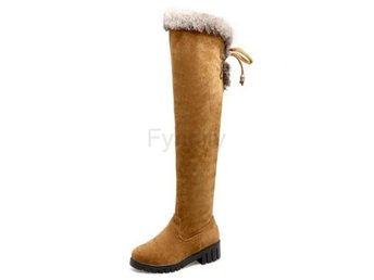 Dam Boots For Cold Winter Botas Women Footwears Yellow 40