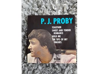 P. J. Proby, Together/Sweet  And Tender Romance/Hold Me/The Tips Of My Fingers
