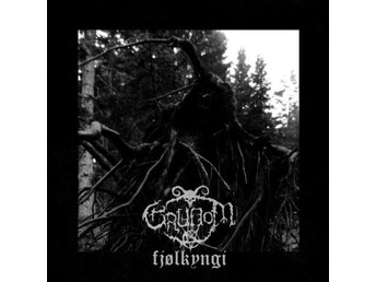 Grudom -Fjolkyngi LP 2014 low-key black metal from Denmark