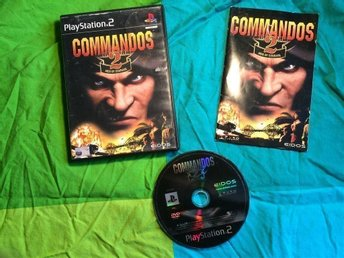 COMMANDOS 2 MEN OF COURAGE  PS2 PLAYSTATION 2