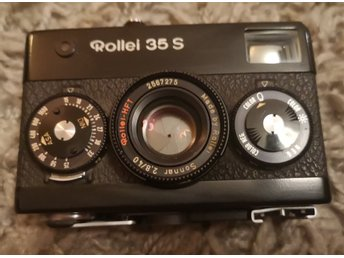 Rollei 35s sonnar 40mm f2. 8