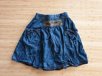 fc18965c80be Noa Noa Miniature 128 cm jeanskjol jeans kjol denim kjol denimkjol noanoa  128cm